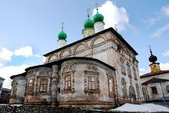 Iglesia ortodoxa vieja Imagen de archivo