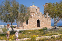 Iglesia ortodoxa vieja Fotos de archivo