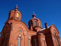 Iglesia ortodoxa vieja Imagenes de archivo