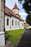 Iglesia ortodoxa vieja en Brasov, Rumania Fotos de archivo