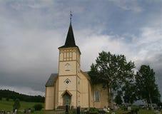 Iglesia, OS Hedmark, Noruega Fotografía de archivo