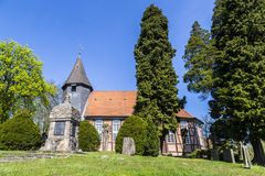Iglesia Ostenholz Imágenes de archivo libres de regalías