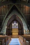 Iglesia Paihia de Pauls del santo Foto de archivo libre de regalías