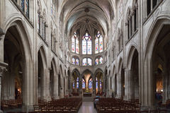 Iglesia París de Severin del santo Fotografía de archivo