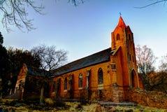 Iglesia parroquial arruinada en Botshabelo, Mpumalanga, Suráfrica Fotos de archivo libres de regalías