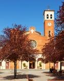 Iglesia parroquial de Sant Adria españa Foto de archivo libre de regalías