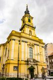 Iglesia parroquial del ` s de Ávila St Teresa Imagen de archivo libre de regalías