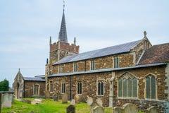 Iglesia parroquial del santo Edmund en el mercado de Downham, Norfolk Fotos de archivo