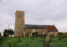 Iglesia parroquial del siglo XIV inglesa fotografía de archivo libre de regalías