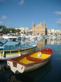 Iglesia parroquial, Msida, MALTA Fotografía de archivo libre de regalías