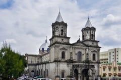 Iglesia parroquial santa del rosario imagen de archivo libre de regalías