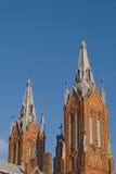 Iglesia polaca en Smolensk imágenes de archivo libres de regalías