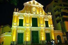 Iglesia portuguesa del estilo Fotos de archivo libres de regalías