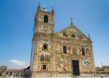Iglesia portuguesa Matriz de Válega Imagen de archivo libre de regalías