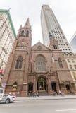 Iglesia presbiteriana de Fifth Avenue en Nueva York Imágenes de archivo libres de regalías