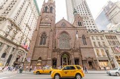 Iglesia presbiteriana de Fifth Avenue en Nueva York Fotografía de archivo