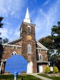 Iglesia presbiteriana del sur histórica vieja, Bergenfield, New Jersey Foto de archivo libre de regalías