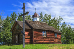Iglesia rústica Imagen de archivo libre de regalías