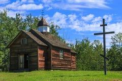 Iglesia rústica Foto de archivo libre de regalías