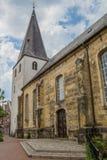 Iglesia reformada en el centro de Lingen Imagen de archivo