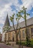 Iglesia reformada en el centro de Lingen Imágenes de archivo libres de regalías