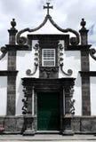 Iglesia, Ribeira Quente, Portugal Imagen de archivo libre de regalías