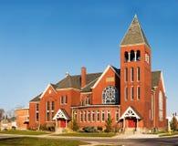 Iglesia roja Imágenes de archivo libres de regalías