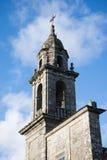 Iglesia Románica de Galicia, España Imagenes de archivo