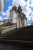 Iglesia Románica de Galicia, España Fotografía de archivo