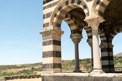 Iglesia Románica en la provincia septentrional de Cerdeña Sassari Itay Imagen de archivo