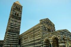 Iglesia Románica en la provincia septentrional de Cerdeña Sassari Itay Fotos de archivo