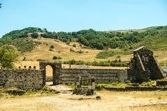 Iglesia Románica en la provincia septentrional de Cerdeña Sassari Itay Imagenes de archivo