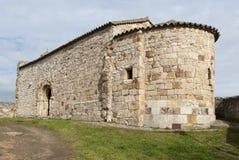 Iglesia Románica España Fotografía de archivo