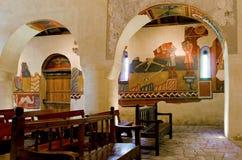 Iglesia Románica Sant Joan de Boi, la Vall de Boi, España Fotografía de archivo libre de regalías