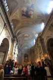 Iglesia, Roma Fotografía de archivo libre de regalías