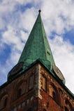 Iglesia roof Fotografía de archivo