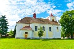 Iglesia rural fotografía de archivo