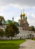 Iglesia rusa. imagen de archivo