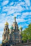 Iglesia rusa adornada foto de archivo