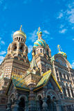 Iglesia rusa adornada fotos de archivo libres de regalías