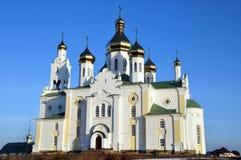 Iglesia rusa antigua fotografía de archivo libre de regalías