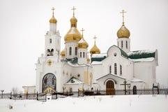 Iglesia rusa antigua foto de archivo libre de regalías