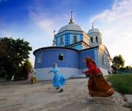 Iglesia rusa de Lipovan imagenes de archivo