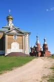 Iglesia rusa vieja Fotos de archivo libres de regalías