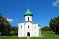 Iglesia Rusia de la vendimia Imagen de archivo libre de regalías