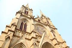 Iglesia sagrada del corazón de Guangzhou Fotos de archivo libres de regalías