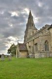 Iglesia sajona Anglo Imágenes de archivo libres de regalías