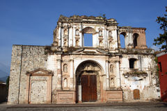 Iglesia San Augustin church. Antigua, Guatemala Royalty Free Stock Image