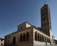 Iglesia San Esteban Segovia Foto de archivo libre de regalías