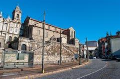 Iglesia San Francisco en Oporto portugal imagen de archivo libre de regalías